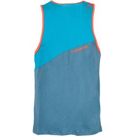 La Sportiva M's Dude Tank Lake/Tropic Blue